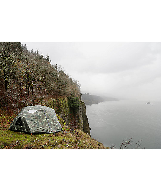 Poler Two Man Green Camo Tent
