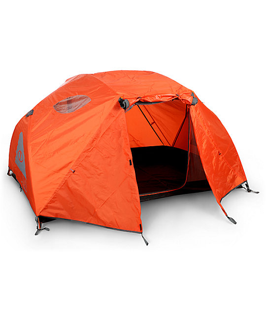 Poler Two Man Orange & Grey Tent