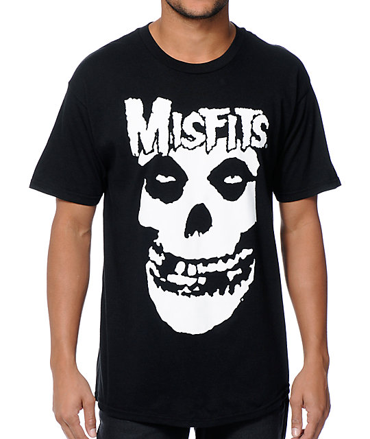 pop culture misfits t shirt zumiez
