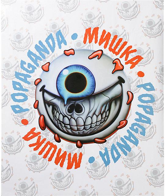 Popaganda x Mishka Keep Watch Grin Poster