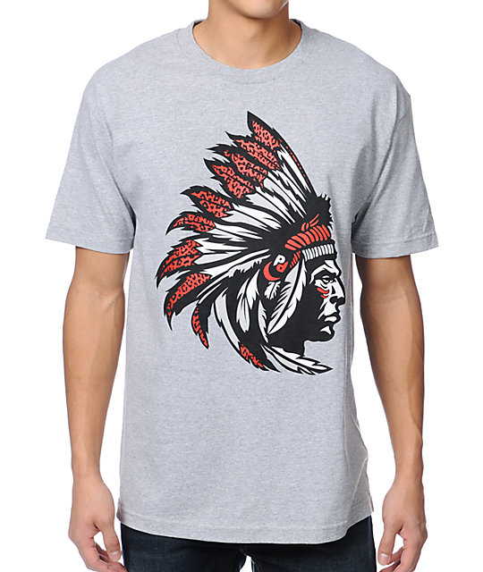 Popular Demand Chief Grey T-Shirt