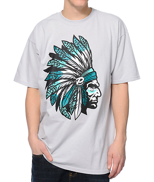 Popular Demand Chief Pro Light Grey T-Shirt