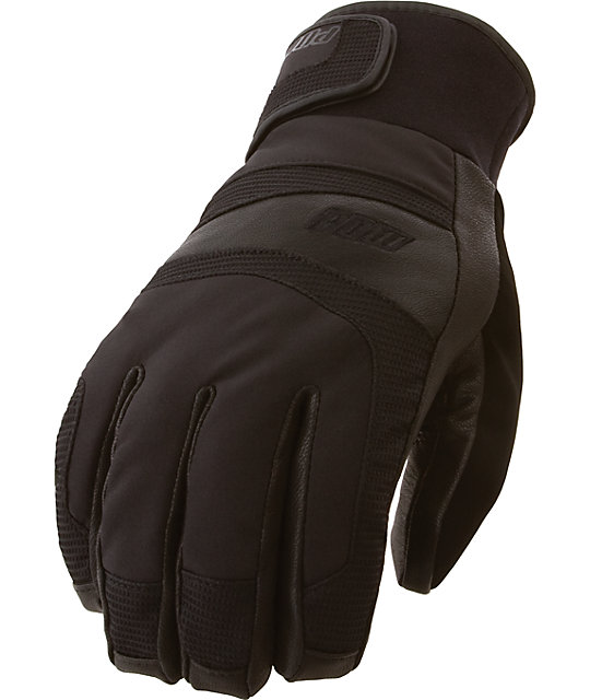 Pow Tanto Black Snow Gloves