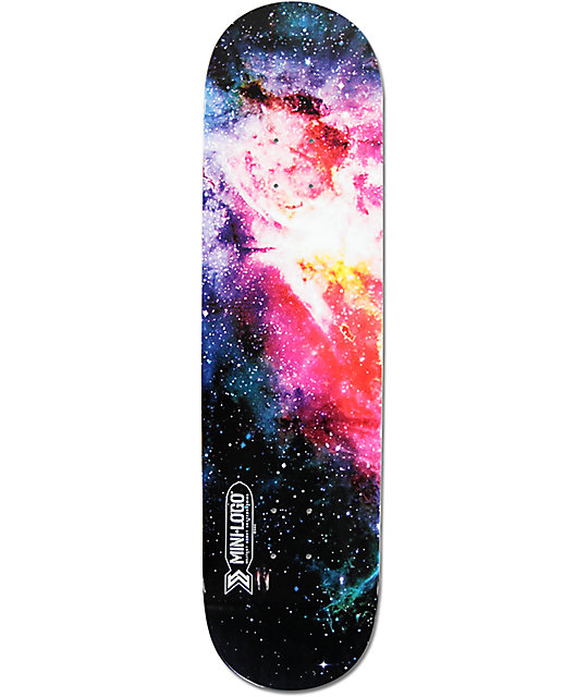 "Powell Mini Logo Cosmic 8.5""  Skateboard Deck"