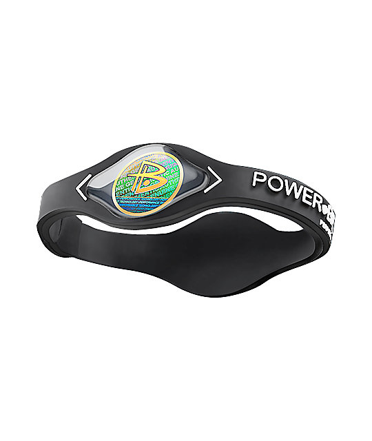 Power Balance Black Hologram Bracelet