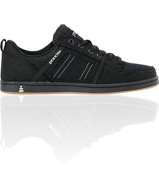 Praxis Core Black Skate Shoes