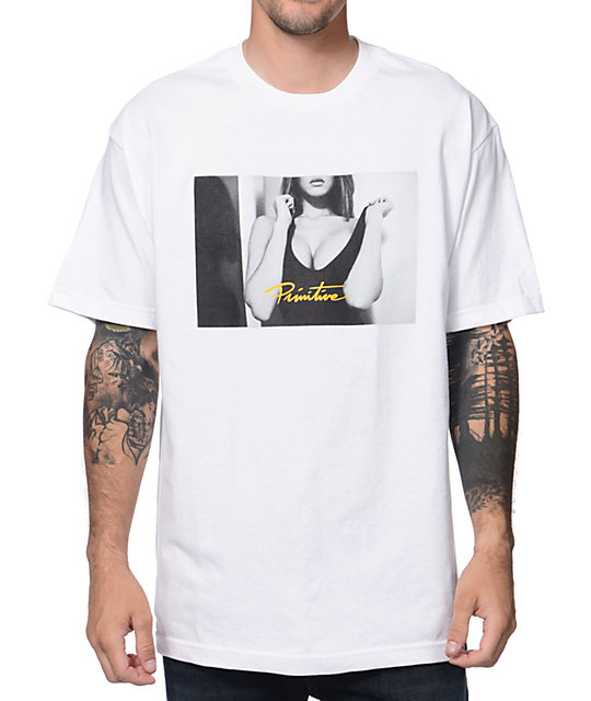 Primitive After Party White T-Shirt