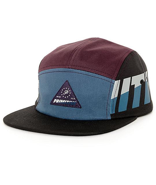 Primitive Apex Dark Teal 5 Panel Hat