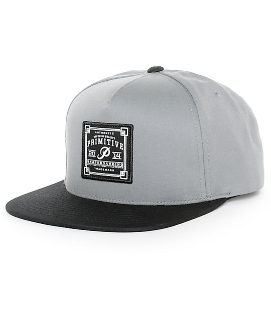 Primitive Authentic Skate Patch Snapback Hat