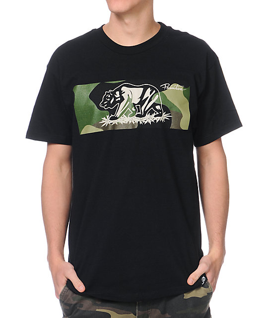 Primitive Bear Camo Black T-Shirt