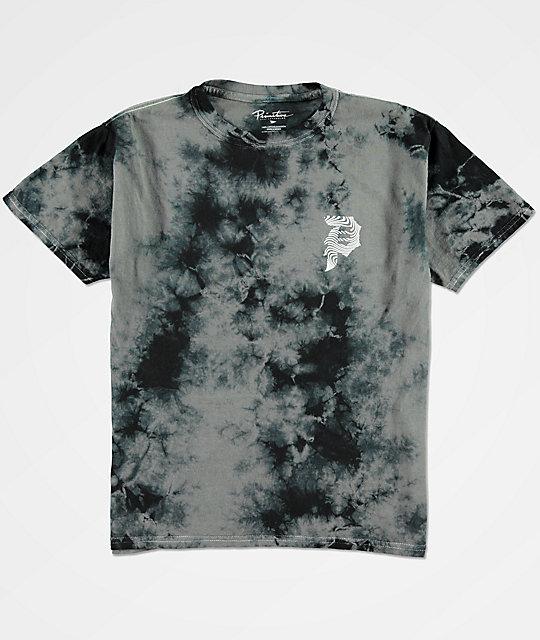 Primitive Boys Dirty P Waves Black Tie Dye T-Shirt | Zumiez