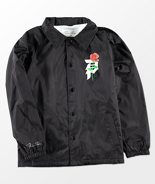 Primitive Boys Heartbreakers Black Coaches Jacket
