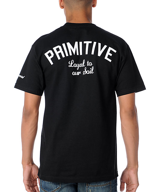 Primitive Clothing CA Loyal Black T-Shirt