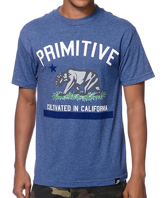 Primitive Cultivated Blue T-Shirt