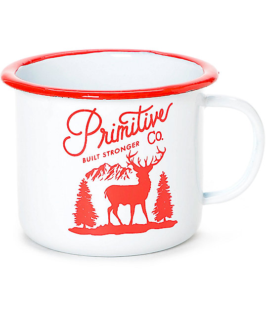 Primitive Great Outdoors Camping Mug