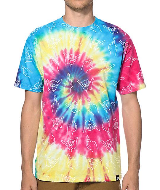 Primitive HLFU Tie Dye T-Shirt