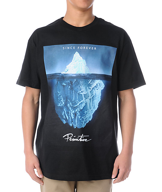 Primitive Iceberg Black T-Shirt