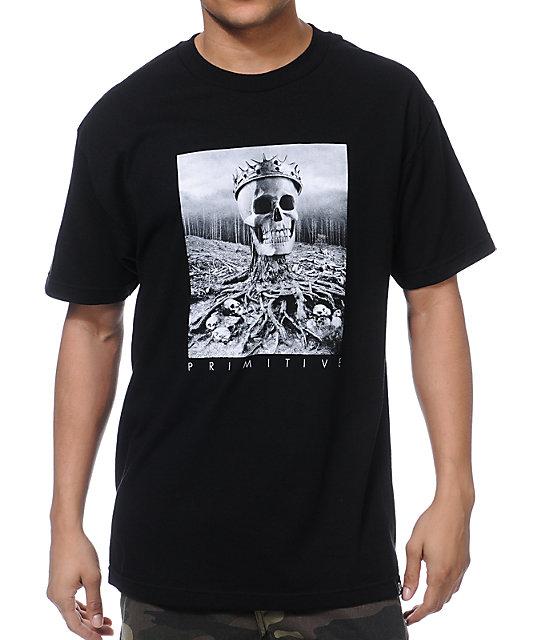 Primitive Lords Black T-Shirt