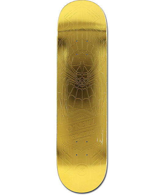 "Primitive ONeill Spider 8.125""  Skateboard Deck"