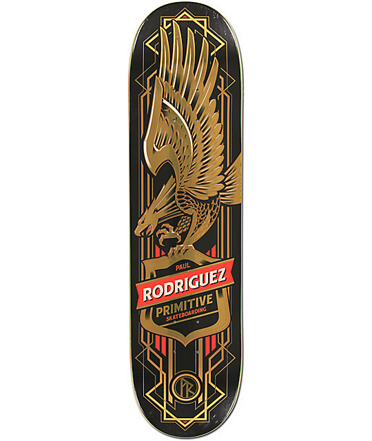"Primitive P-Rod Eagle 8.0""  Skateboard Deck"