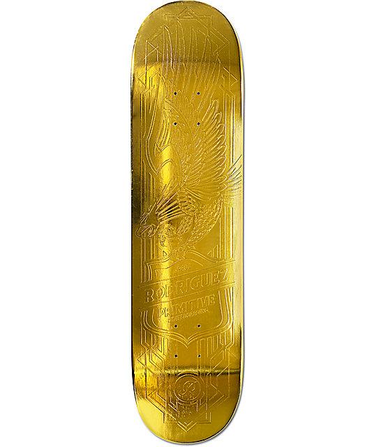 Primitive skateboards gold