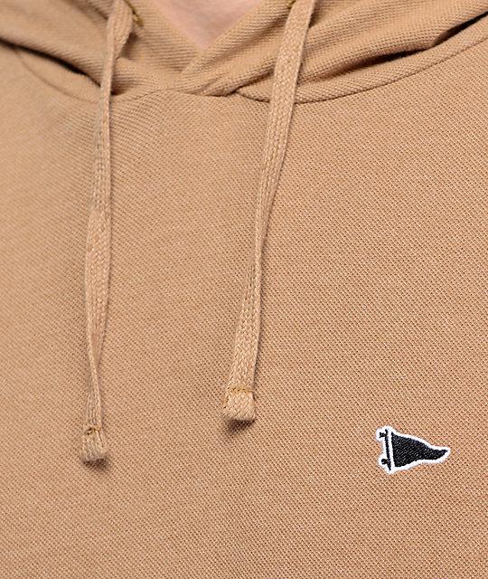 Primitive Pennant Pique Khaki Pullover Hoodie | Zumiez