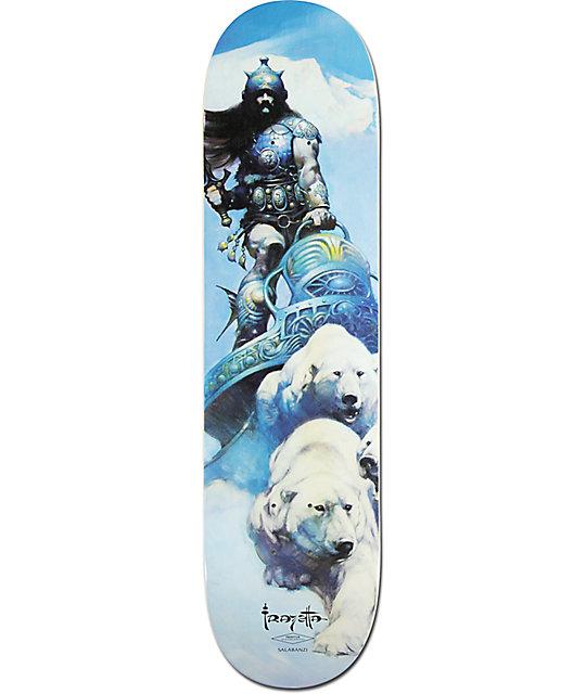 "Primitive Salabanzi Warrior 8.0""  Skateboard Deck"