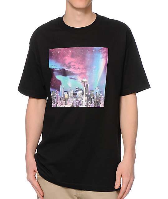 Primitive Seattle City Lights T-Shirt
