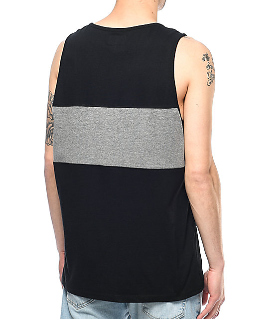 Primitive Sprinter Nuevo Black Tank Top