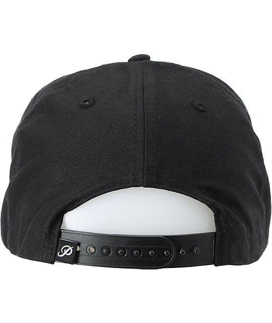 Primitive x Grizzly x Diamond Cultivated Black & Mint Snapback Hat