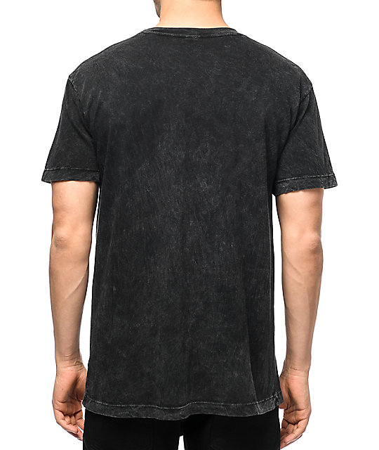 Primitive x Huy Fong Foods Black Acid Wash T-Shirt | Zumiez