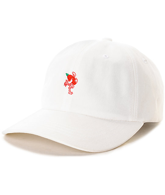 Primitive x Huy Fong White Strapback Hat