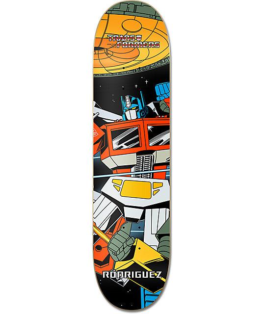 "Primitive x Transformers P-Rod Optimus Prime 7.875""  Skateboard Deck"