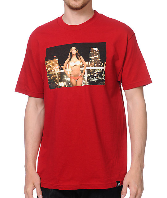 Primitive x Van Styles Iesha Red T-Shirt