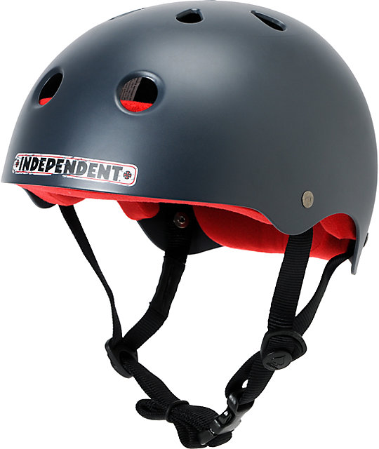 Pro-Tec x Independent Classic Satin Grey Skateboard Helmet