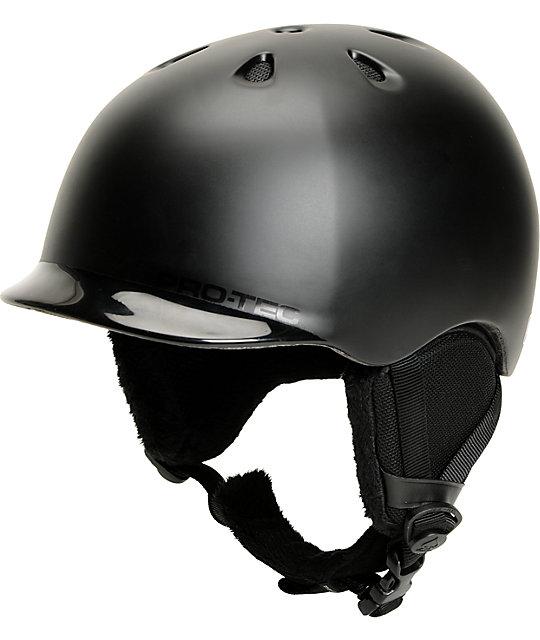 Pro-tec Riot Black Snowboard Helmet