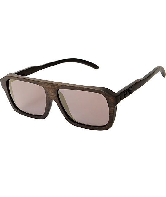 Proof Bud Ebony & Gold Mirror Polarized Sunglasses