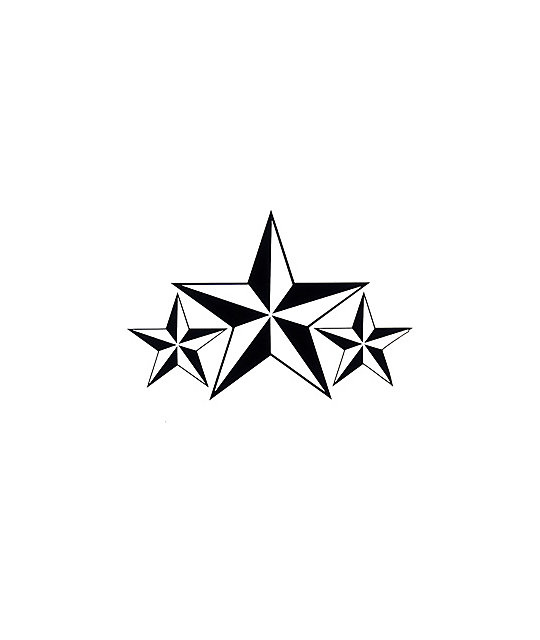 Quagmire Co. Tri-Star Nautical Sticker