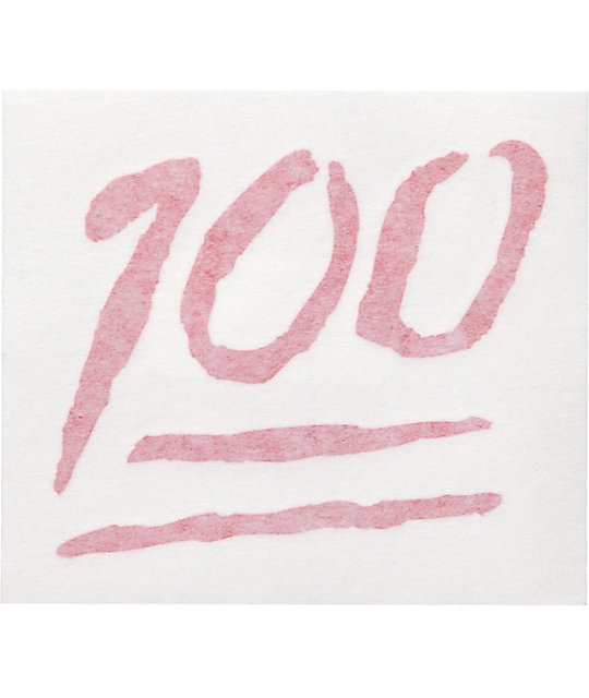Quagmire Keep It 100 Decal Sticker