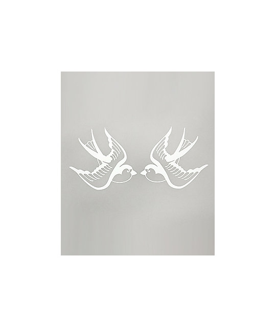 Quagmire White Sparrows Decal Sticker