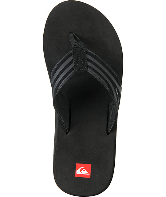 Quiksilver Monkey Wrench 2 Black Sandals