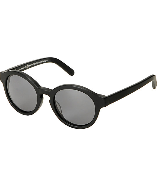 RAEN Optics Flowers Matte Black Polarized Sunglasses