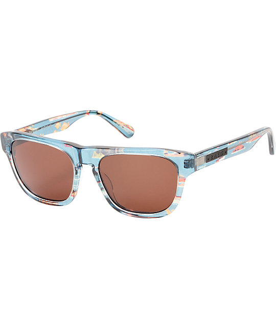 RAEN Optics Nevin Aloha Print & Brown Sunglasses