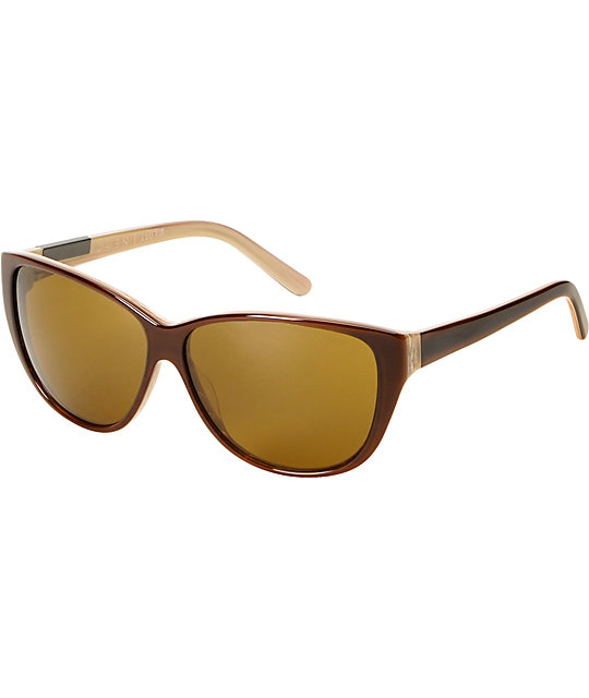 RAEN Optics Nora Brown & Whitewash Sunglasses