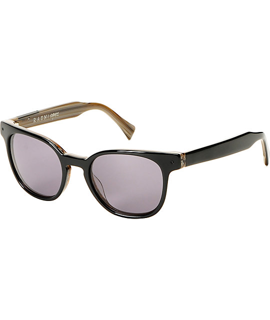 RAEN Optics Squire Wood Grain & Smoke Sunglasses