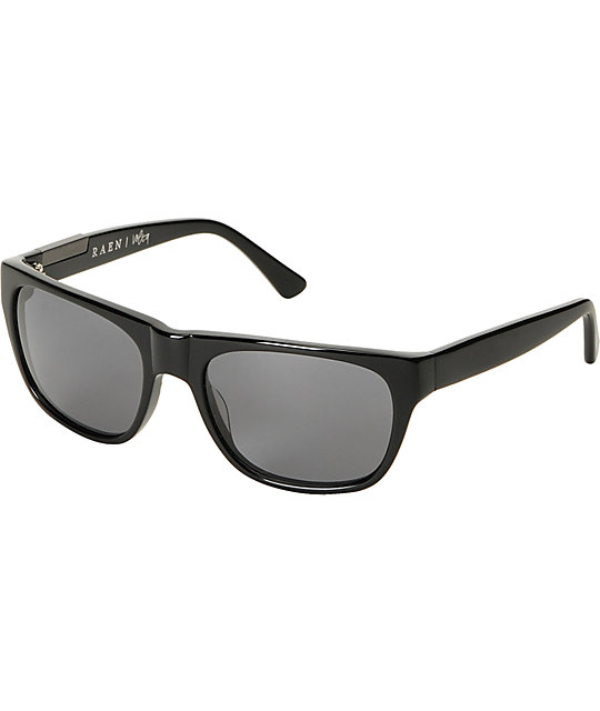 RAEN Optics Volta Gloss Black Polarized Sunglasses