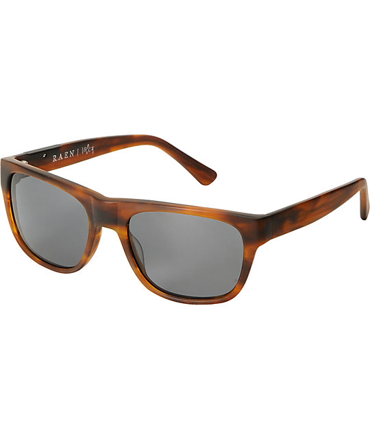 RAEN Optics Volta Matte Rootbeer Polarized Sunglasses