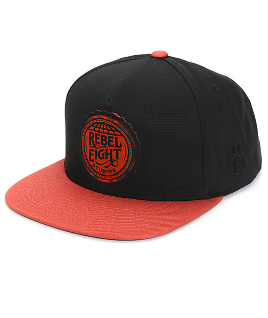 REBEL 8 Studio Snapback Hat