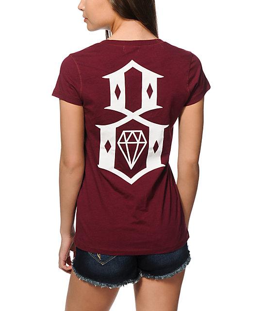 REBEL8 8 Logo V-Neck T-Shirt