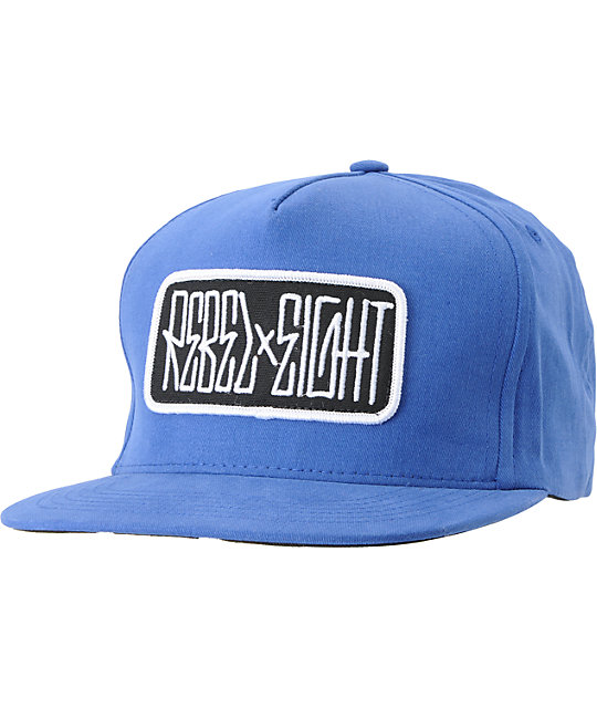 REBEL8 All City Blue Snapback Hat